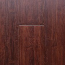 "5"" Horizontal Crossbond Bamboo Hardwood Flooring in Auburn"