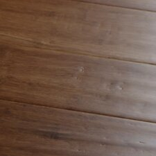 "4"" Engineered Bamboo Hardwood Flooring in Carbonized"