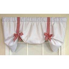"Tie Up Stripe Ribbon 50"" Curtain Valance"