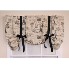"French Stamp Tie-Up 50"" Curtain Valance"