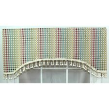 "Cheque 50"" Curtain Valance"