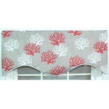 "Sea Coral 50"" Curtain Valance"