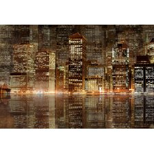 Architecture Night Vision by Jordan Carlyle Photographic Print