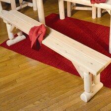 Cedar Kitchen Bench