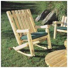 High Back Indoor / Outdoor Cedar Rocking Chair
