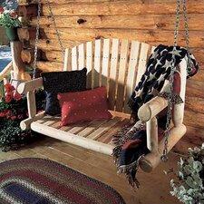 Rustic Cedar Porch Swing