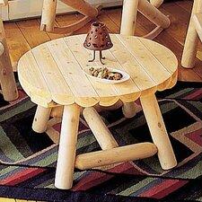 Round Cedar Coffee Table