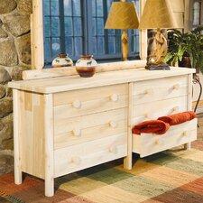 Cedar 6 Drawer Dresser