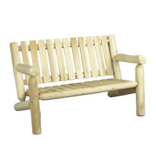 Cedar Wood Garden Bench