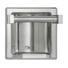 """Recessed Soap Dish with .75"""" Bar"""