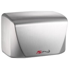 Turbo-Dri Junior High Speed Surface Mounted 120 Volt Automatic Hand Dryer in Satin Stainless Steel