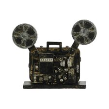 Resin Cinema Film Projector Classic Black