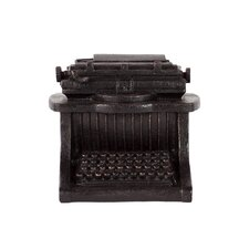 Resin Vintage 1903 Densmore No. 5 43 Key Typewriter in Matte Black