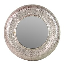Home & Garden Accents Round Wall Mirror