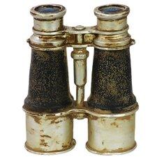 Resin Vintage Binoculars Decorative Object