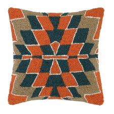 Kilim Pattern II Hook Wool Throw Pillow