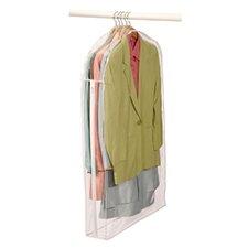 Clear Vinyl Storage Suit Garment Cover