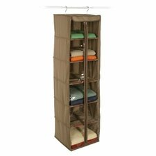 Cedar Storage 6 Shelf Inserts Hanging Organizer