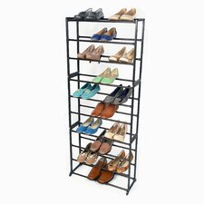 30 Pair Standing Shoe Rack