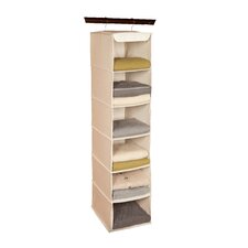 Nature of Storage Canvas Natural 6 Shelf Sweater Organizer