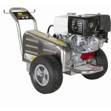 l Belt Drive 3500 PSI 4 GPM Cold Water Stainless Steel Cat Pump Pressure Washer