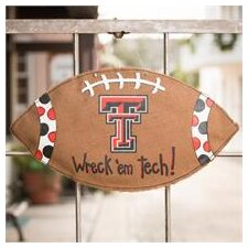 Texas Tech Football Burlee Garden Sign