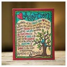 Adoption Canvas Wall Decor