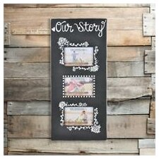 Our Story 3 Picture Frame