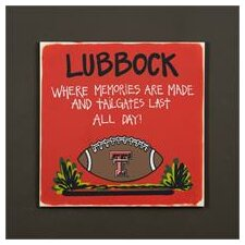 Texas Tech Tailgate Sign Painting Print
