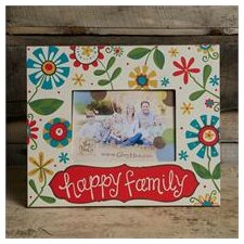 Happy Family Picture Frame