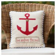 Love Anchors The Soul Pillow