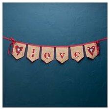 Love Banner Wall Decor