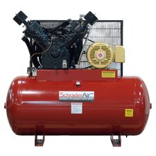 120 Gallon Professional Series 2 Stage 25 HP Horizontal Air Compressor with After Cooler