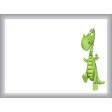 Dry Erase Whiteboard, 1.5' x 2'