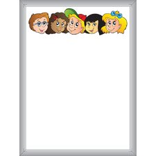 Dry Erase Whiteboard 2' x 1.5'