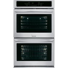 "27"" Electric Double Wall Oven in Stainless Steel"