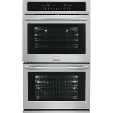 "Gallery Series 30"" Electric Double Wall Oven in Stainless Steel"