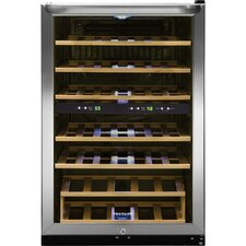 38 Bottle Dual Zone Freestanding Wine Refrigerator