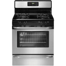 5 Cu. Ft Gas Range in Stainless Steel