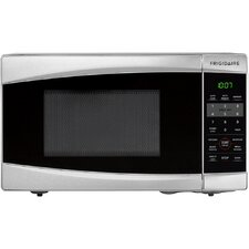 0.7 Cu. Ft. 700W Countertop Microwave in Stainless Steel