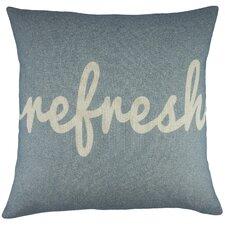 Refresh Cotton Throw Pillow