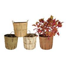 4 Piece Round Pot Planter Set (Set of 4)