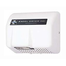 Lexan Automatic Surface Mounted Cap 277 Volt Hand Dryer in White