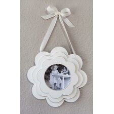 Multi-Layered Flower Wood Hanging Picture Frame