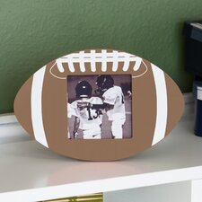 Wooden Football Picture Frame