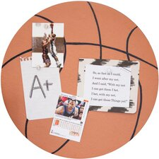 Soft Wood Basketball Corkboard