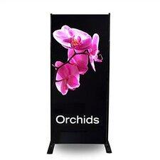 "24"" - 120"" Width Adjustable Powerframe Banner Display Stand"