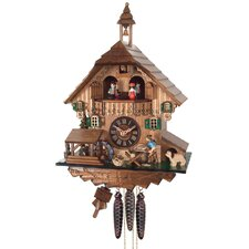 One Day Musical Cottage Cuckoo Wall Clock