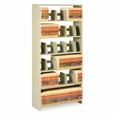 Tennsco Snap-Together 6-Shelf Closed Starter Set Open Filing Unit