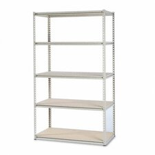 "Tennsco Stur-D-Stor 50.75"" H 5 Shelf Shelving Unit Starter"